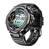 LJMG 2021 Nuevo S25 Bluetooth Smart Watch Men's Sports Fitness Bluetooth Llamada Música Multifuncional Música Alarma Reloj De La Frecuencia Cardíaca Monitoreo Android iOS,B