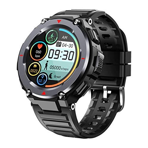 FZXL S25 Runder Bildschirm Smart Sport Armbanduhr Lokale Musik Dual Bluetooth Große Batterie Langständer,B
