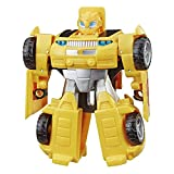 Transformers Playskool Heroes Rescue Bots Academy Bumblebee Converting Toy Robot, 4.5' Action Figure, Toys for Kids Ages 3 & Up