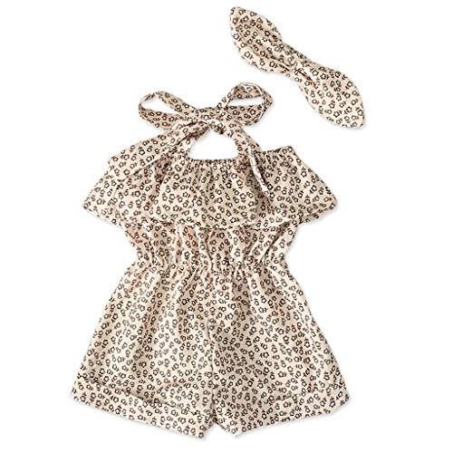 Softshell Overall Toddler Straps Off Shoulder Ruffled Floral Print Romper Jumpsuit