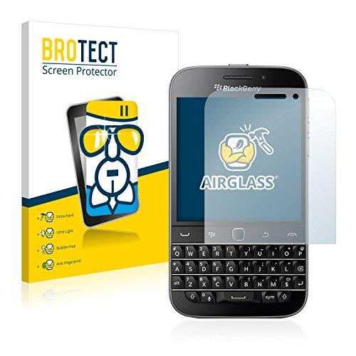 BROTECT Panzerglas Schutzfolie kompatibel mit BlackBerry Classic Q20 - AirGlass, extrem Kratzfest, Anti-Fingerprint, Ultra-transparent