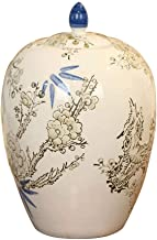 MYXMY Funeral Urn - Brass Handcrafted and Engraved Cremation Urns for Human Ashes Adult - Display Burial Urn at Home or in Niche