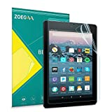 ZOEGAA Blue Light Screen Protector for Amazon Fire HD 8 tablet and Fire HD 8 Plus (10th Generation,2020 Release), Anti-fingerprint Premium PET Film