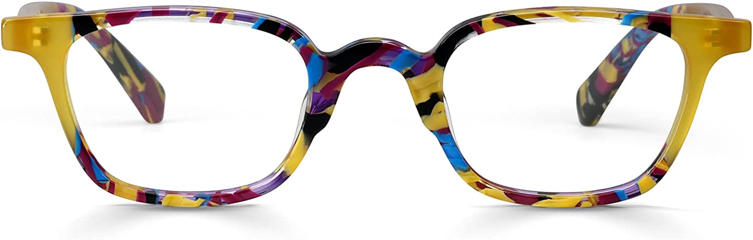 Max 44% OFF Arch Rival'd Premium Readers for New mail order Women Glas Square Men Eye and