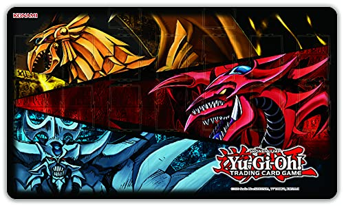 YU-GI-OH!- Trading Card Game Slifer Obelisk & Ra-Tappetino, YGO-J21GM