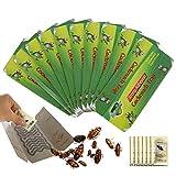 50 Piezas Trampas Cucarachas, Trampa Adhesiva Pegajosa Colector de Cucarachas Bolsa para Cocina y Sala (50 pcs)