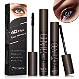 4D Silk Fiber Lash Mascara, 4D Silk Mascara Waterproof, 4D Mascara, Long-Lasting, No