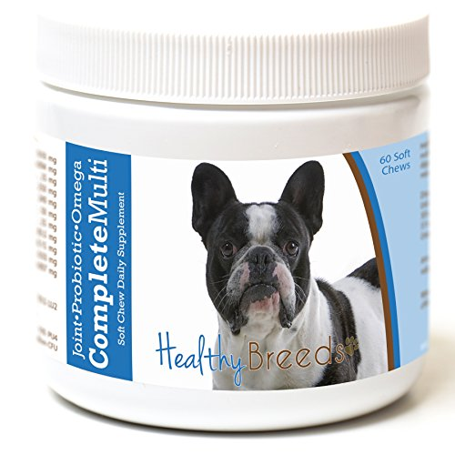 Healthy Breeds French Bulldog All in One Multivitamin Soft Chew 60 Count