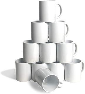 Ceramic Sublimation Blank Mugs (11 oz. - 36 Case, White)