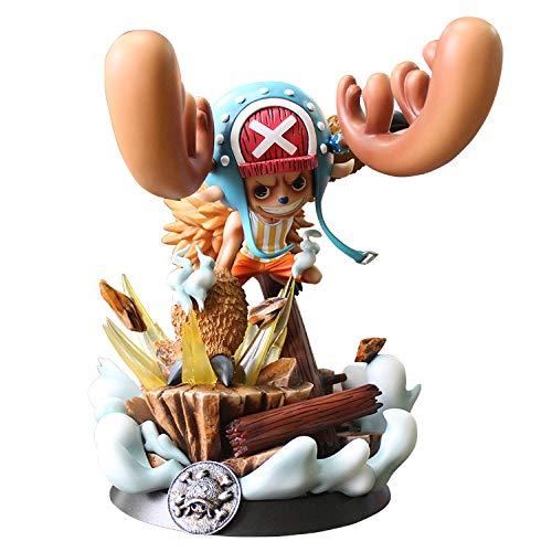 LONGXR Qiao Ba Personajes De Anime One Piece Nautical King Modelo De M