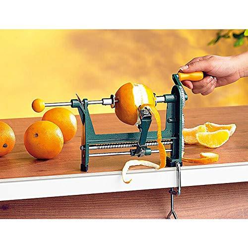 DW007 Orangen Apple Schälmaschine Orangenschneider Obst Multifunktional Schäler Orangenschäler Zuhause Orangen Geschält 25 * 11.6 * 17CM