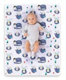ROCCED Baby Bed Pad Waterproof Washable Reusable 31'x40' Large Toddler Mattress Protector Incontinence Pads Sheet Cover Underpads for Kids Adults and Pets Potty Training Mat