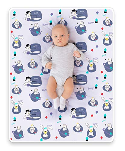 ROCCED Baby Bed Pad Waterproof Washable Reusable 31'x40'...