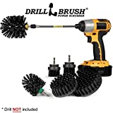 Drillbrush Ultimate Grill Cleaning Kit With Extension - Drill Brush - Rust Remover - Mineral Deposit- Grease Remover - Grill...