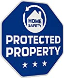 iiquu Home Safety - 5X Sicherheits-Aufkleber Protected Property, 510ILSAA006