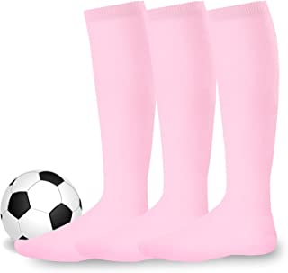 Athletic Sports Socks for Unisex Soccer Socks, Team Sports Socks with Cushion Socks Multi-Pack for Youth to Adult