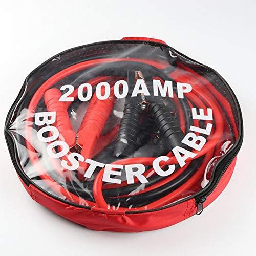Z&LEI Cables de elevación de automóviles Cable de Inicio 2000Am Calidad de Servicio Pesado 4M Batería de Coche Start para Coche Van Booster Cable Accesorio