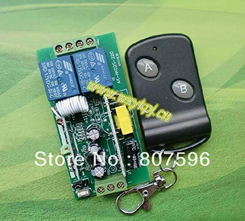 AC85V250V AC 85V 100V 110V 180V 220V 250V 2Channel 10A RF Wireless Remote Controller Switch Receiver&Transmitter 433MHZ 315mhz