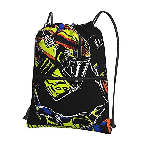 Valentino Rossi VR46 - Mochila deportiva con cordón