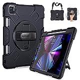 SUPFIVES iPad Pro 11 Case 2021 with...
