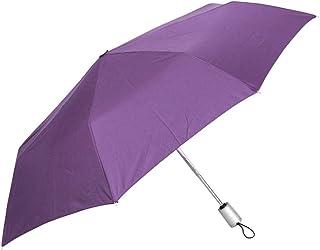 Samsonite Stick Umbrella Alu Drop Safe 3 Sect. Auto O/C, Grape Jam (Purple) 45467 4035