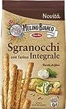 Mulino Bianco Grissini Sgranocchi con Farina Integrale, Perfetti come Snack, 200 g...