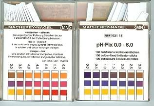 0.0-6.0 pH indicator strips 100/box