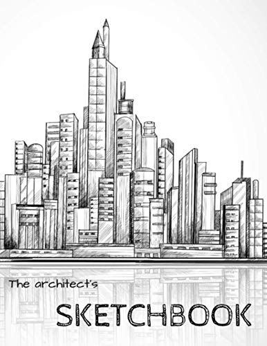 the architect's sketchbook: a sketchbook for drawing,11x8.5pouces,100pages, a very nice gift to architects or students