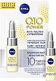 Nivea Q10+ Power Tratamiento Anti-Arrugas + Firmeza, Pack de 3 x 6.5 ml