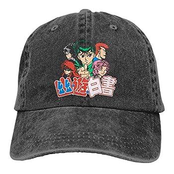 YuYu Hakusho.jpg Hat Men Women Adjustable Hiphop Cotton Washed Denim Caps for Outdoor
