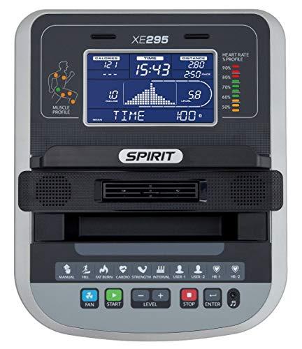 Spirit Fitness Crosstrainer XE 295 1-3