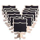 ULTNICE Lavagnette promemoria Mini lavagna rettangolare Lavagnette messaggi da tavola per ...