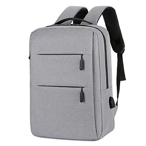 BeniMochila para computadora de negocios nueva mochila para computadora portátil de gran capacidad de viaje de negocios para hombres de 15.6 pulgadas-gris claro