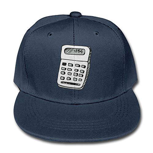 Instelbare Boy & Girl Math rekenmachine voor kinderen Baseball Caps Solid Color Hats