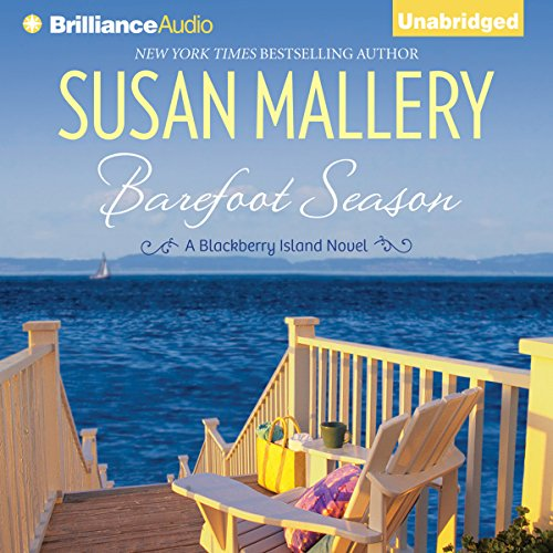 Barefoot Season audiobook cover art