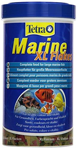 Tetra Marine XL Flakes vollwertiges Hauptfutter, für große Meerwasserfische, 500 ml Dose