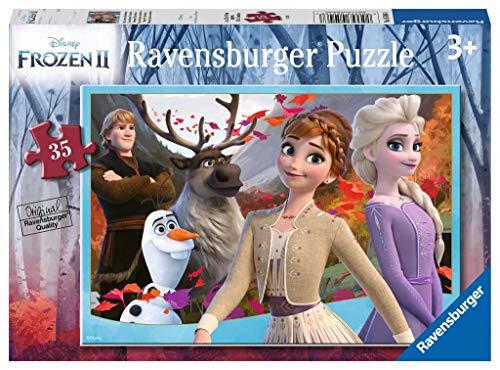 Ravensburger Disney Frozen 2, 35 Piezas Rompecabezas para niños de 3 años y más, Color (5046)