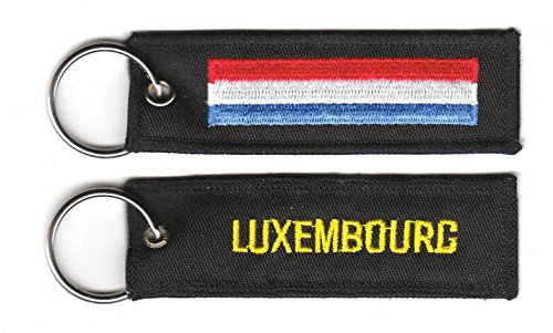 Schlüsselanhänger Luxemburg Anhänger Fahne Flagge NEU