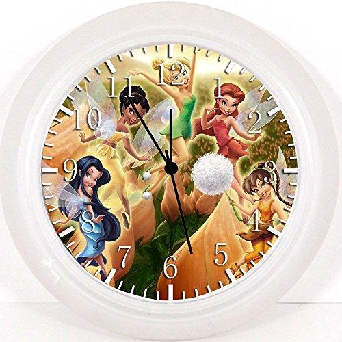 Reloj de pared de hadas New Little 25,4 cm se color y para pared W02