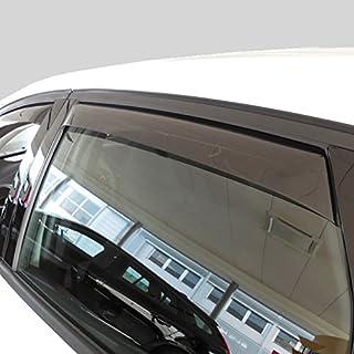 Car Lux AR04725 Derivabrisas Deflectores de Viento Corta Vientos Delanteros para Montero