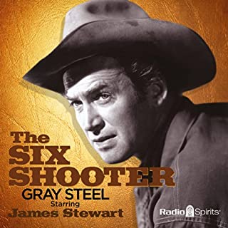 The Six Shooter audiobook cover art