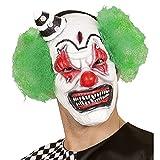 Widmann Maschera Mezzo Viso Killer Clown, Multicolore, Adulto, 841