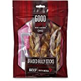 Petco Brand - Good Lovin' Braided Bully Stick Dog Chew, 7-inch, Pack...