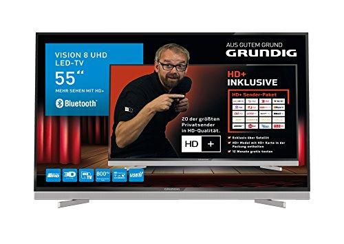 Grundig 55 VLX 8590 HD 140 cm (55 Zoll) Fernseher (Ultra-HD, Triple Tuner, 3D, Smart TV)