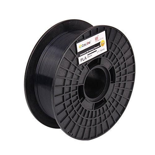 CoLiDo COL3D-LFD002B, Filamento PLA Per Stampa 3D, 1.75 mm, Nero, 1 kg
