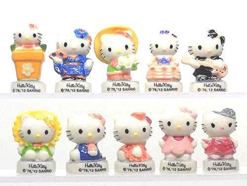 FABOLAND Bonjour Hello Kitty BD1012-10 Sujets Porcelaine pou