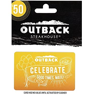 Outback Celebrate Gift Card $50