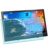 VacFun 2 Piezas Filtro Luz Azul Protector de Pantalla Compatible con Thinlerain 15.6' Monitor Display, Screen Protector Película Protectora (Not Cristal Templado) Anti Blue Light Filter New Version