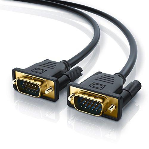 Cable de 5m VGA a VGA - Contactos bañados en Oro -...