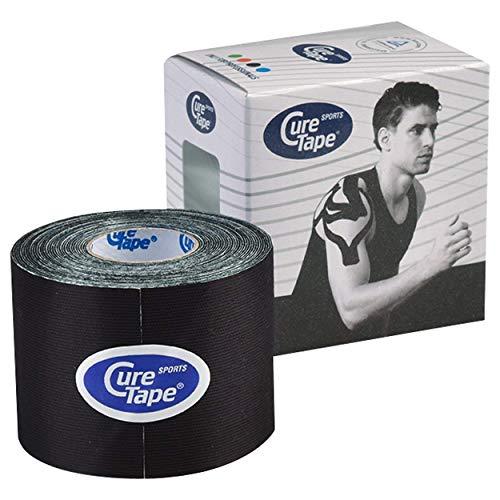 Cure Tape Sports, 5 m x 5 cm, wasserfest, schwarz
